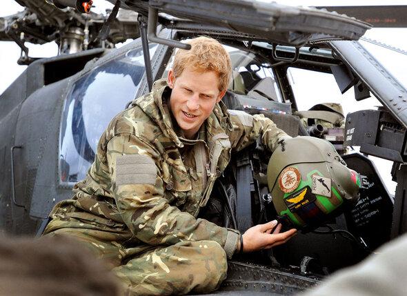 В армии принца Гарри именуют не иначе как капитан Уэльс