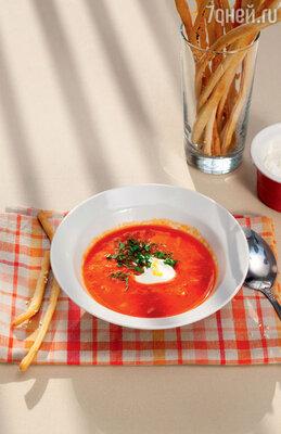 Пряный холодный суп