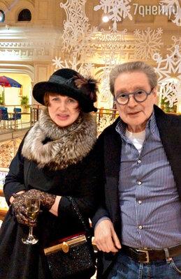С женой Галиной. 12 декабря 2012 г.