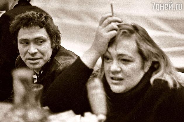 Иосиф Райхельгауз с Галиной Волчек
