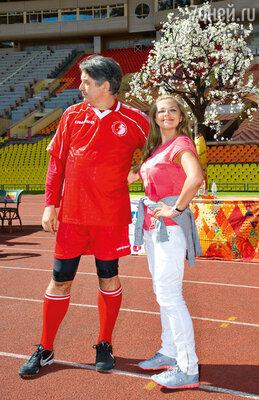 Ирина Пегова и режиссер Евгений Каменькович