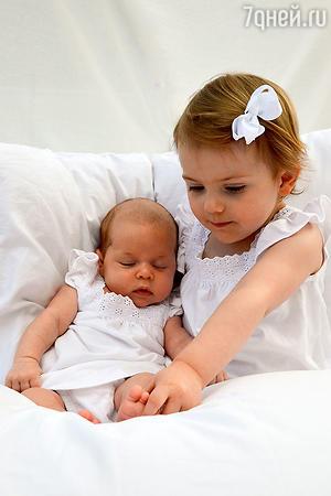 Шведские принцессы Эстель и Леонор