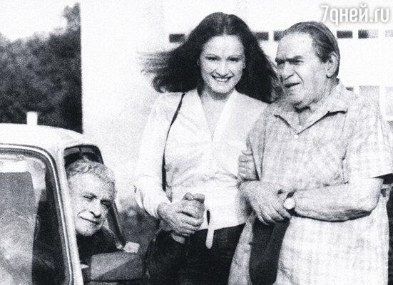 Ролан Быков, София Ротару и Леонид Утесов. Он заглянул к нам на съемки «Души»