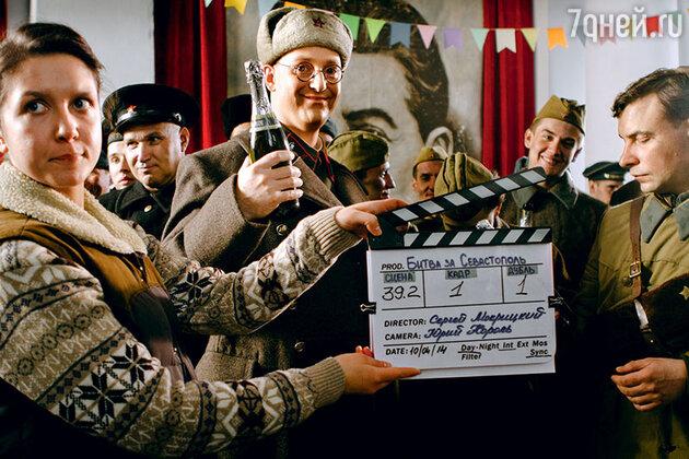 Съемки фильма «Битва за Севастополь»
