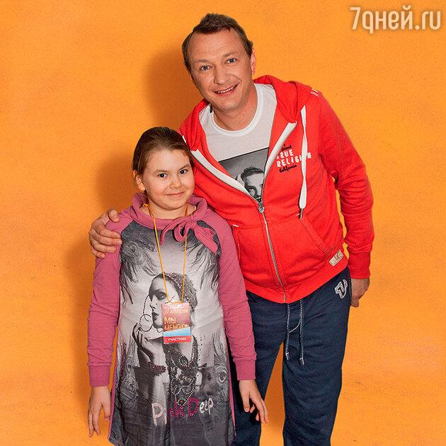 Марат Башаров с дочкой Амели