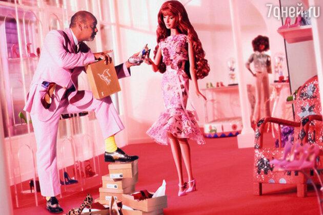 Christian Louboutin для Barbie.