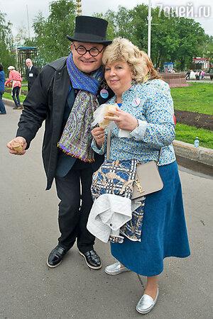 Александр Васильев и Лариса Рубальская