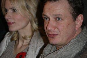 Марат Башаров привел на премьеру «Батальона» свою бывшую жену