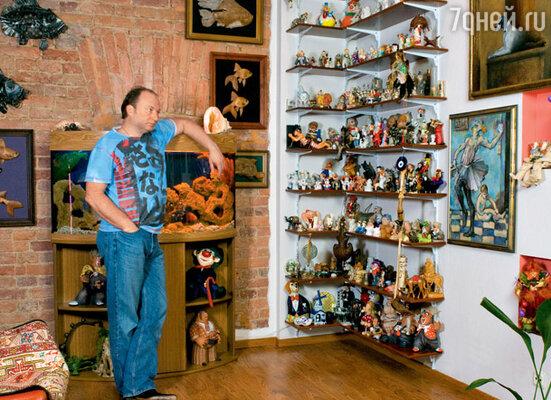 У Юрия Гальцева коллекция «профессиональная» — он собирает клоунов