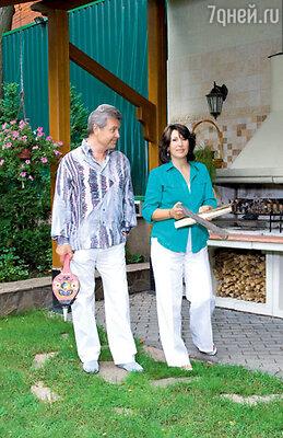«Привычка готовить барбекю сохранилась у нас со времен жизни на старом месте вКрекшино»