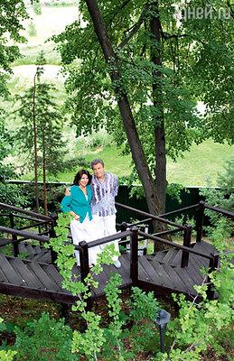 «Участок располагается накрутом берегу Клязьмы. Пейзажи здесь потрясающие!»