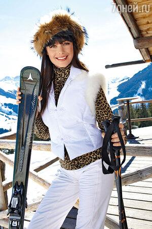 Оксана Федорова: покорять горные вершины нужно в модном наряде!