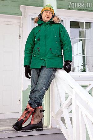 Такая куртка — лучший вариант для загородных прогулок. Виктор Логинов