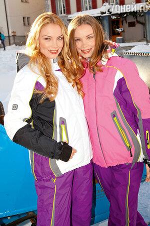 Сестры-горнолыжницы Арнтгольц в Швейцарии