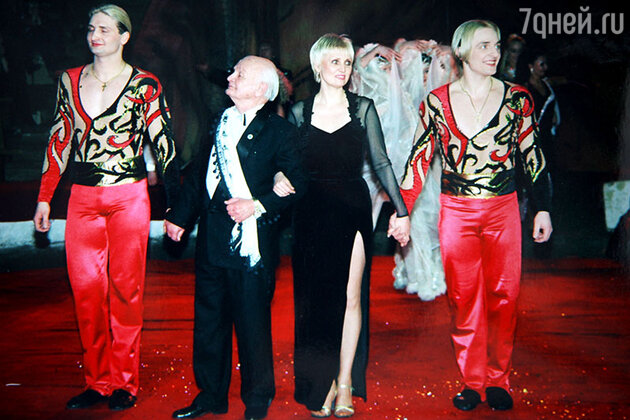 Вальтер Запашный с женой и сыновьями