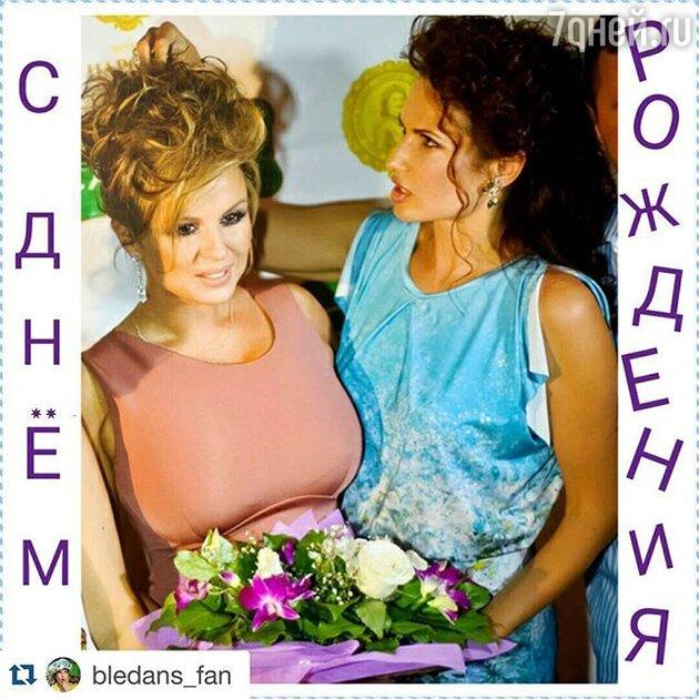 Анна Семенович  Эвелина Бледанс