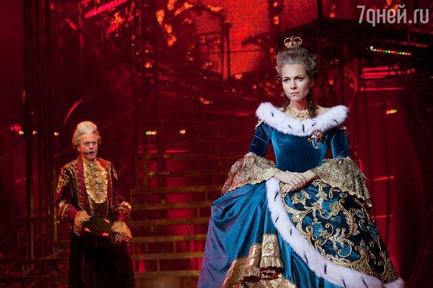 Екатерина Гусева с мюзикле «Граф Орлов»