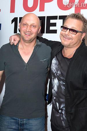 Гоша Куценко и Владимир Пресняков