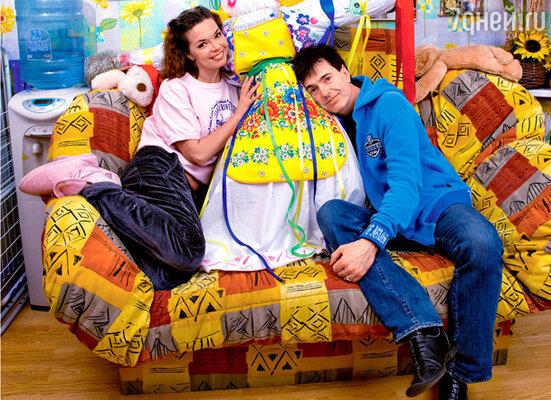 Геннадий с женой Кариной
