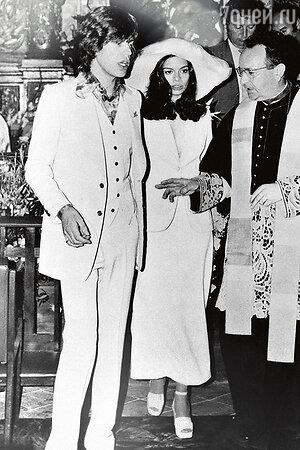 Свадьба Мика и Бьянки Джаггер