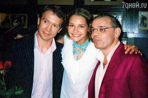 Глафира Тарханова с Константином Райкиным и Евгением Мироновым