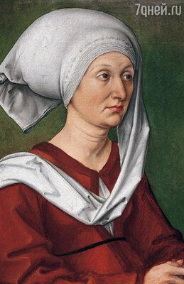 Альбрехт Дюрер до конца оставался преданным сыном. «Портрет матери художника, Барбары Дюрер, урожденной Холпер», ок. 1490 г.