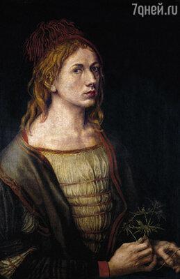 И вот портрет человека, с которым Агнес предстояло связать жизнь, лежал перед нею на столе... А. Дюрер «Автопортрет», 1493 г. Лувр