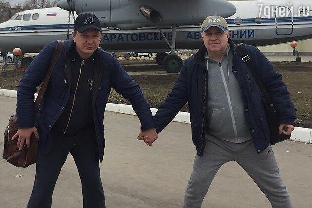 Марат Башаров и Владимир Стержаков