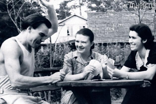 Михаил Глузский и Екатерина Перегудова