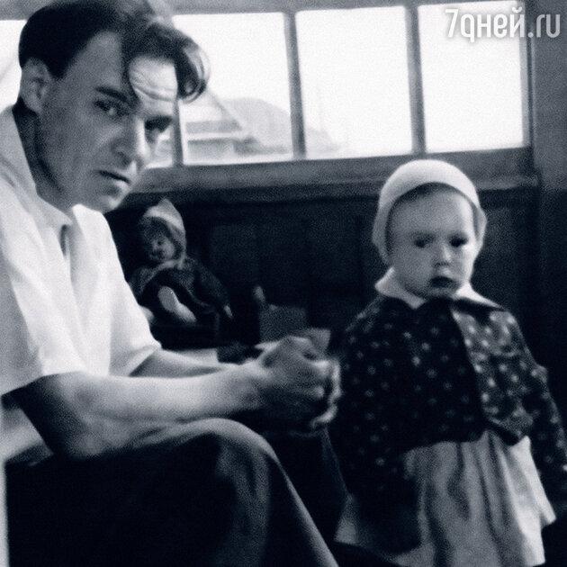 Михаил Глузский с дочкой Машей