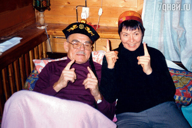 Михаил Глузский и Мария Федотова-Глузская