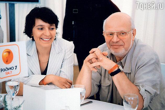 Михаил Федотов и Ксения