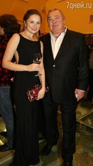 Сергей Проханов с подругой Светланой