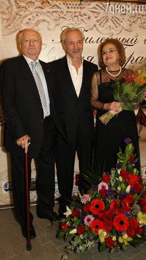 Евгений Герасимов с супругой, Марк Захаров