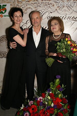 Евгений Герасимов с супругой, Ирина Апексимова