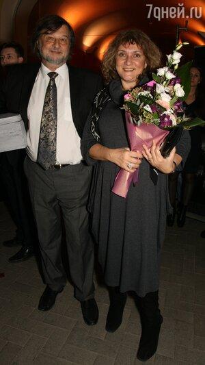 Алексей Рыбников с женой Татьяной