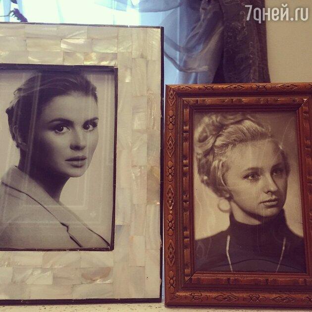 Фото Анны Семенович и ее мамы