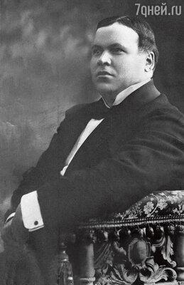 «Дед, Николай Александрович, первый в актерской династии Ливановых». 1890-е гг.