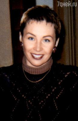 Анастасия, дочка от первого брака. 1996 г.