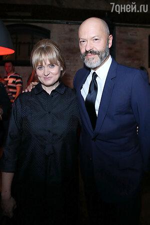 Анна Михалкова и Федор Бондарчук