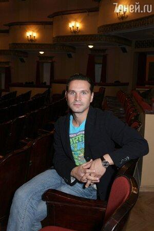 Виктор Добронравов в мюзикле «Красавица и Чудовище»
