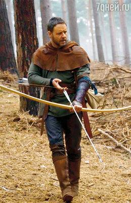 Кроу в роли Робин Гуда. Англия, 2009 г.