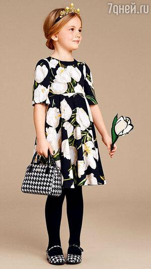 Модель из коллекции Dolce&Gabbana
