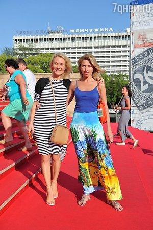 Екатерина Архарова и Катя Гордон