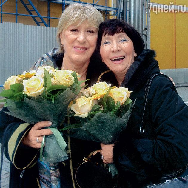 Людмила Дмитриева и Екатерина Васильева