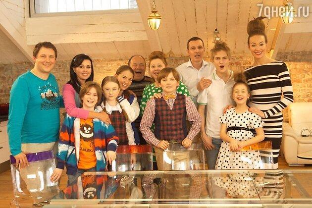 Команда сериала «Семья 3D»