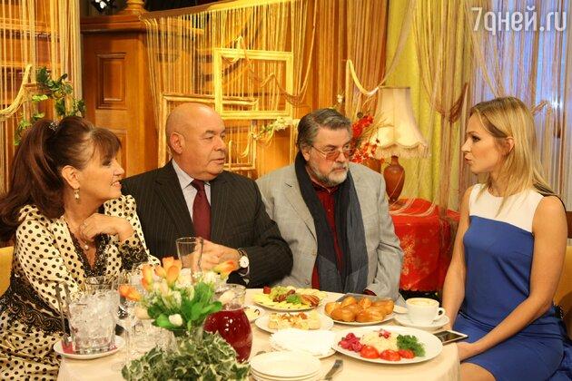 Екатерина Уфимцева, Михаил Швыдкой, Александр Ширвиндт и Ирина Медведева