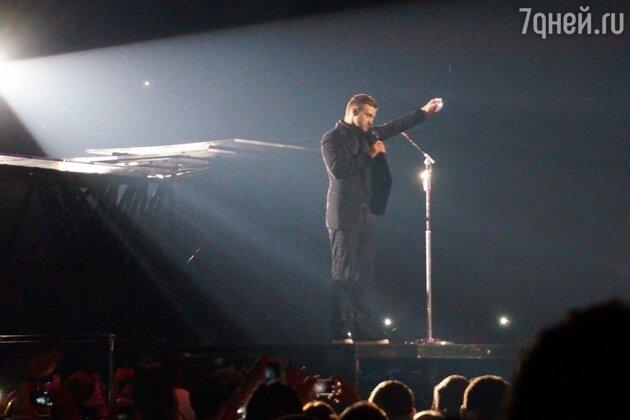 Концерт Джастина Тимберлейка в спорткомплексе «Олимпийский»