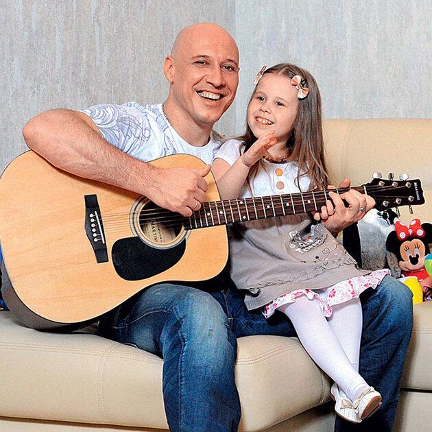 Денис Майданов дочерью Владой