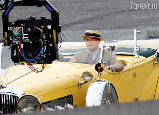 Съемочный момент нового фильма режиссера Бэза Лурманна «Великий Гэтсби». Австралия, октябрь 2011 г.